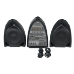 DAP-Audio Entertainer Mobile Set Pro All in One 2 x 150w Active PA System DSP Mic